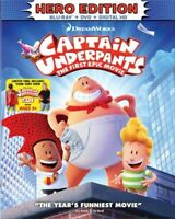 Captain Underpants The First Epic Movie Hero Edition (Bluray/DVD/Digital 2017)