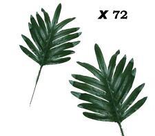 """(Lot of 72) 12"""" Palm Leaf Pick Greenery Filler Flower Arrangement Home Wedding"""