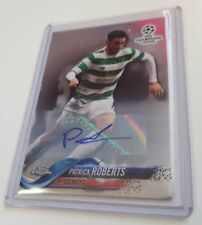 Autographed Soccer Trading Cards UEFA Champions League