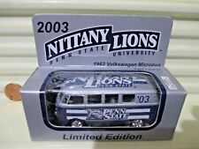 Fleer Collectibles WELLY 2003 PENN STATE UNIVERSITY VW VOLKSWAGEN Van Nu Boxed