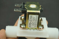 "New Water Solenoid Electric Valve For Water Air N/C 12V DC 1/2"" Normally Closed"