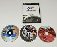 Sony Playstation 2 Gran Turismo 1 2 3 4 Collection Video Game Lot PS2