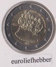 Malta      2 Euro Commemorative  2013  1921   Zelfbestuur / Self-Government 1921