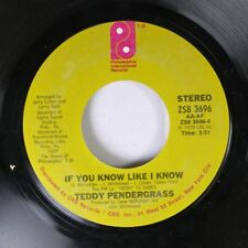 Soul 45 Teddy Pendergrass - If You Know Like I Know / Turn Off The Lights On Phi