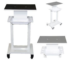 Steel Frame Salon Spa Trolley Cart Stand Storage Tray and Tool Implement Racks