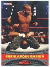 """SHEIK ABDUL BASHIR """"PARALLEL CARD 53 #01/20"""" TNA IMPACT 09"""