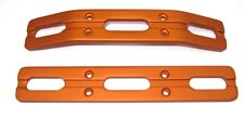 T-Maxx and E-Maxx Orange Anodized Bumper Set of two front and rear