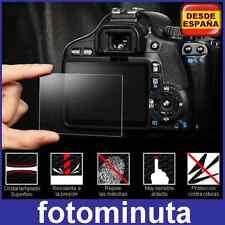 Protector de Pantalla Canon EOS 700D 70D Rigido Cristal Vidrio Templado LCD