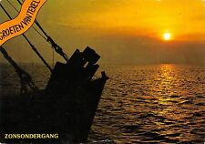 BT9156 Zonsondergang ship bateaux texel      Netherlands