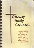 ROSWELL NM 1982 GATEWAY BAPTIST SCHOOL FAMILY COOK BOOK * LOCAL ADS * NEW MEXICO