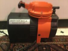 Small Compressor, Weather Mac-A, 40 Psi, Use for Airbrush, light duty. Gd Cond.