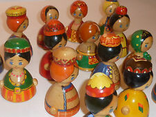 vintage LOT 15 ancien POUPEE RUSSE matriochka russie URSS Russian Nesting Dolls