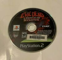 Evil Dead: A Fistful of Boomstick (Sony PlayStation 2 2003) DISC ONLY MATURE PS2