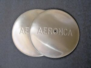 Aeronca Style Van Sickle Dust Covers, Hub Caps, Unpainted, Replica Part