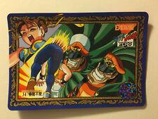 Street Fighter Zero Carddass Special Zero 34