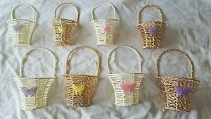 Joblot of 24 Wall hanging Baskets for flower Decorations new wholesale type B