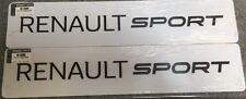 Genuine Renault Sport Show Plaques Set (paire)