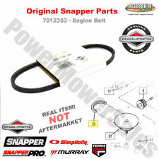 7012353YP Genuine Snapper Engine Belt - for Snapper Walk behind & Riding Mowers