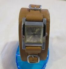Vintage Guess Women's Watch Leather Cuff Band F83