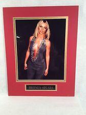 "Pop Singer Memorabilia 14""X11"" Picture/Photo ""Britney Spears"""
