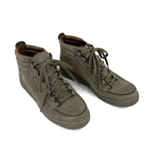 Mephisto Men's Size 6.5 Hiking Shoes Rainbow Mid Heritage Suede Boots Tan Suede