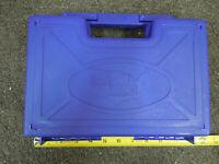"""Sar Arms SARK2 Blue Hard Pistol Gun Storage Case 12"""" X 8"""" w/ cleaning rod & Inst"""