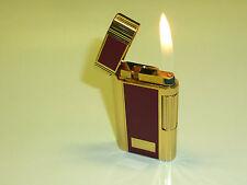 "ZIPPO CONTEMPO GAS LIGHTER - ""BURGUNDY NO. 714 STANDARD"" - 1985 - OVP - JAPAN"