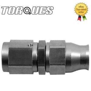 AN -4 (AN4 4AN) STRAIGHT Stainless Steel Teflon PTFE Hose Fitting