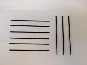 Renz 88mm Black Straight Wire Calendar Hangers