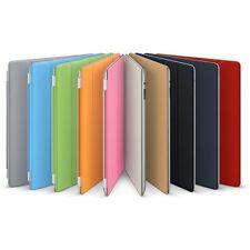 The New iPad 4 3 Smart Cover Slim PU Leather Case Wake/Sleep Stand Multi-Color