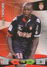 DJIMI TRAORE # MALI AS.MONACO LIVERPOOL.FC CARDS ADRENALYN PANINI FOOT 2011