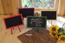 "Purple Wood Chalkboard Easel Message Board 11"" x 9.5"""