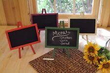 """Green Wood Chalkboard Easel Message Board 11"""" x 9.5"""""""