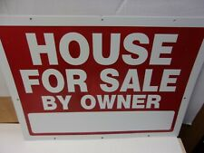 Two Big Redwhite House For Sale By Owner Printed Both Sides 24 X 16 J13 1