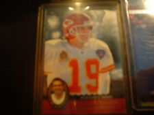 JOE MONTANA CHIEFS 1995 UPPER DECK SP JOE MONTANA TRILOGY FOOTBALL CRD#MT17