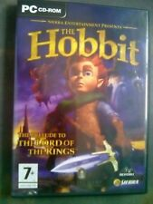 The hobbit PC CD-ROM rare retro game - the prelude to the Lord of the Rings LOTR