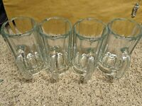 Dailyware Glass Beer Mugs Set (Set of 4) 16oz