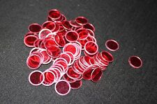 BINGO PAPER Cards, 100 Red Magnetic Chips, markers. no daubers  NEW