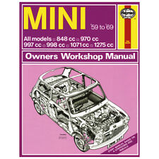 Haynes Classic Mini MK1 MK2 1959-1969 Workshop manual MGL6220X