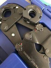 Pressatrice manuale professionaleper idraulici multistrato completa dal 16-26MM
