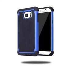 Hybrid Silicone Shockproof Case Hard Back Cover for Samsung Galaxy S4, S4 Mini