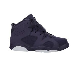 Jordan Retro 6 VI Dynasty Purple Baby Toddler Size 9c Brand New