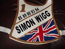 Simon Wigg Speedway Race Chaqueta