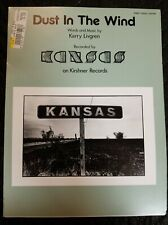 Kansas: Dust In The Wind Sheet Music