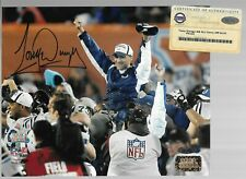 TONY DUNGY Signed 8X10 autograph COLTS SUPER BOWL Steiner COA HOLOGRAM