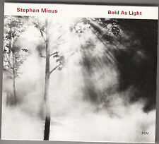 STEPHAN MICUS - bold as light CD