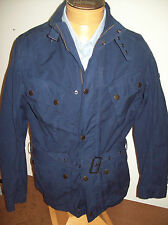Barbour International Barbane Cotton Casual Jacket NWT Large $349 Dark Blue