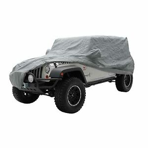 Smittybilt For 76-06 Jeep CJ, YJ, Complete Cover Storage Bag, Lock & Cable 803