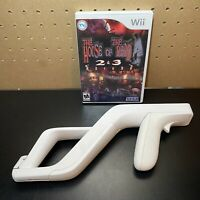 The House of the Dead 2 & 3 Return (Nintendo Wii) w/ Wii Zapper Gun-Tested-CIB