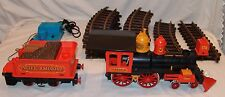 Vtg Playmobil Train LOT 17 pcs Steaming Mary Engine Pacific Railroad Tracks LGB